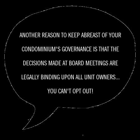 condo governance
